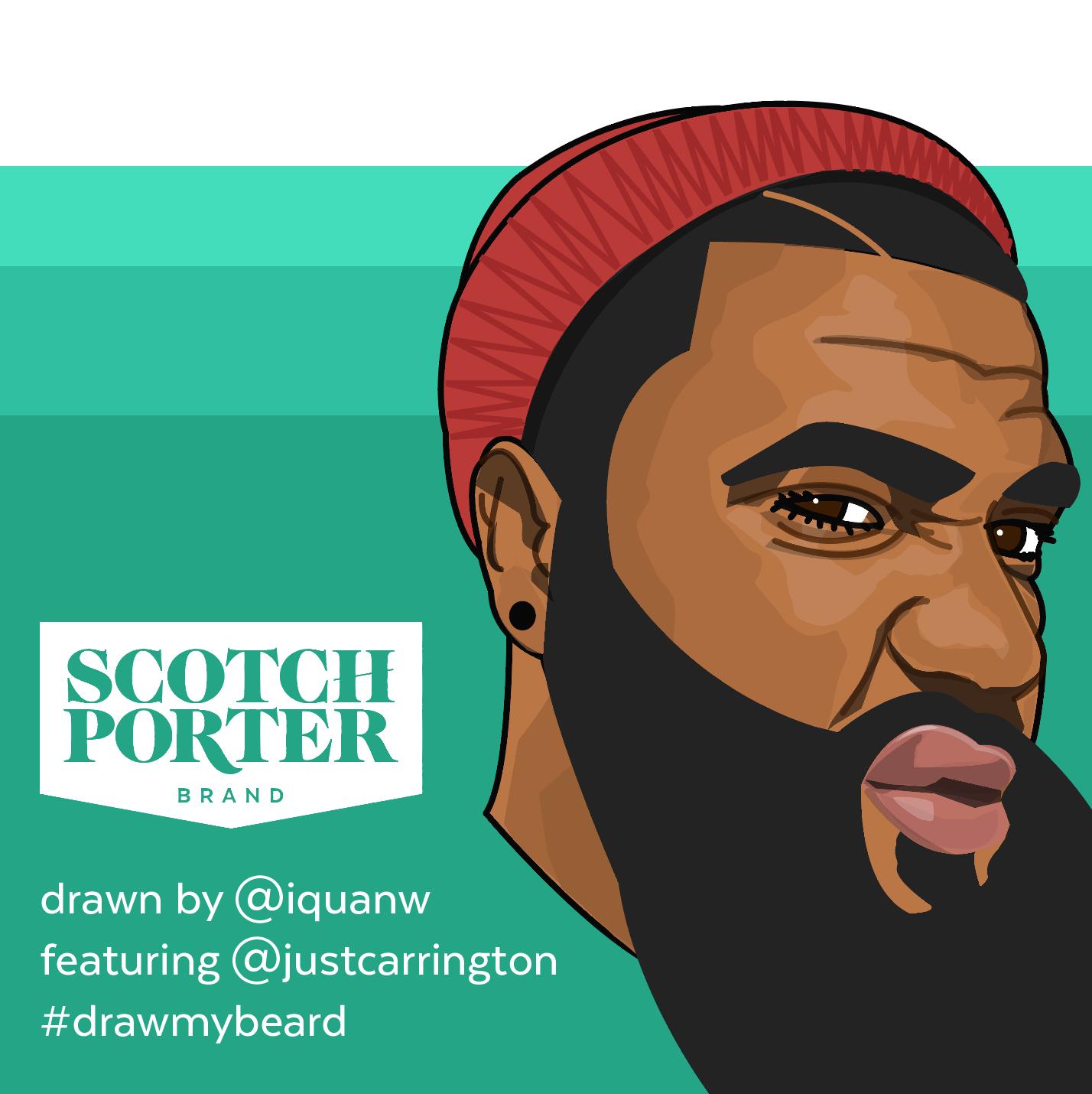 Draw my Beard: 001 JustCarrington