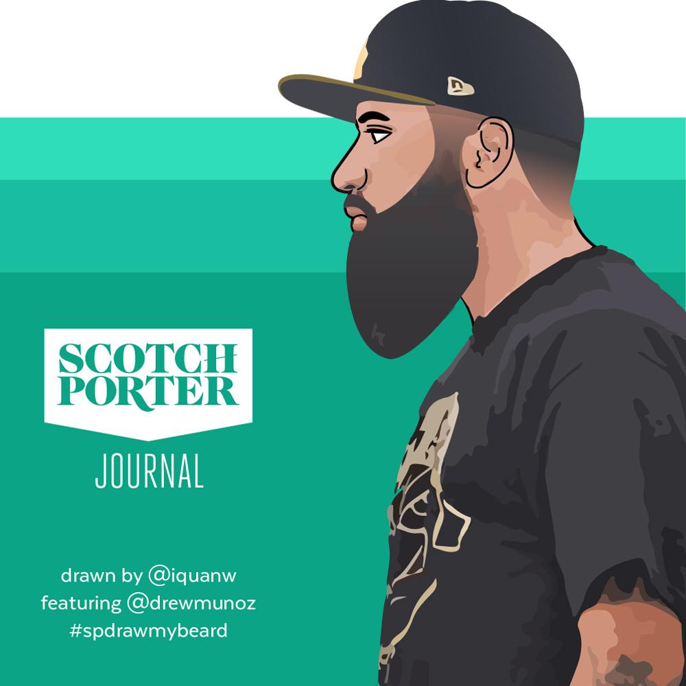 Draw My Beard: 002 Drew Munoz