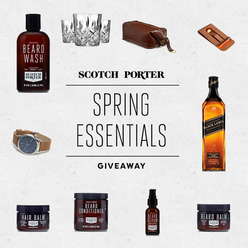 Scotch Porter Holiday Spring Giveaway