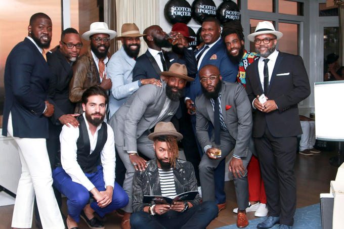 The Scotch Porter Penthouse Celebrated New York Fashion Week: Men's In Style