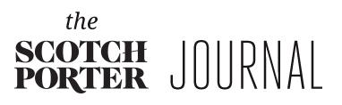 The Scotch Porter Journal