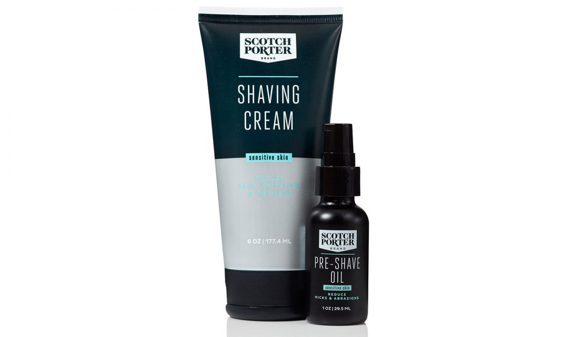 Introducing Scotch Porter Sensitive Skin Shave Collection